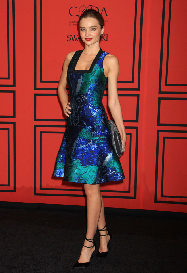 Miranda Kerr Sports Proenza Schouler at the 2013 CFDA Fashion Awards