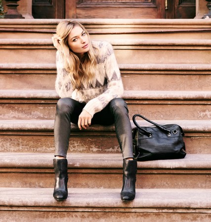 Portmans Taps Jessica Hart for New Campaign