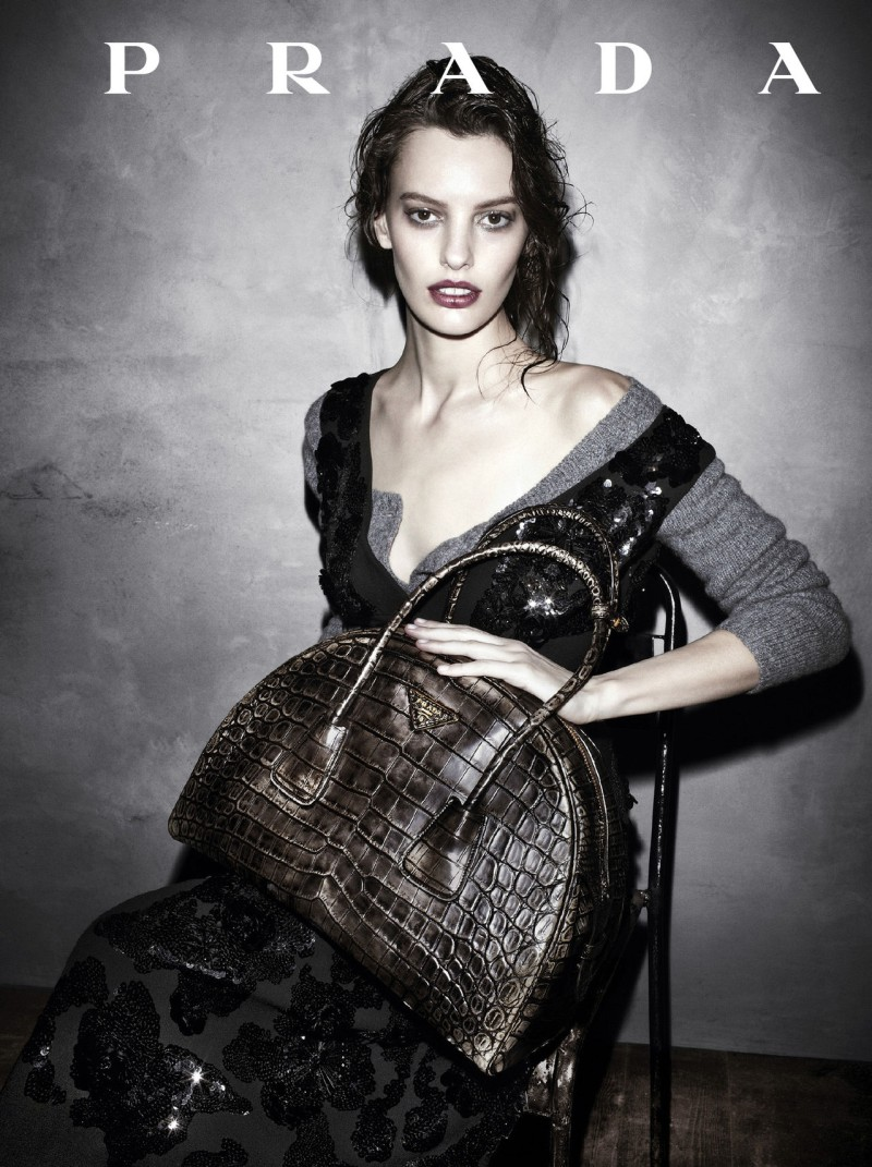 prada aw campaign1 Christy Turlington, Freja Beha Erichsen and More Tapped for Prada Fall 2013 Campaign