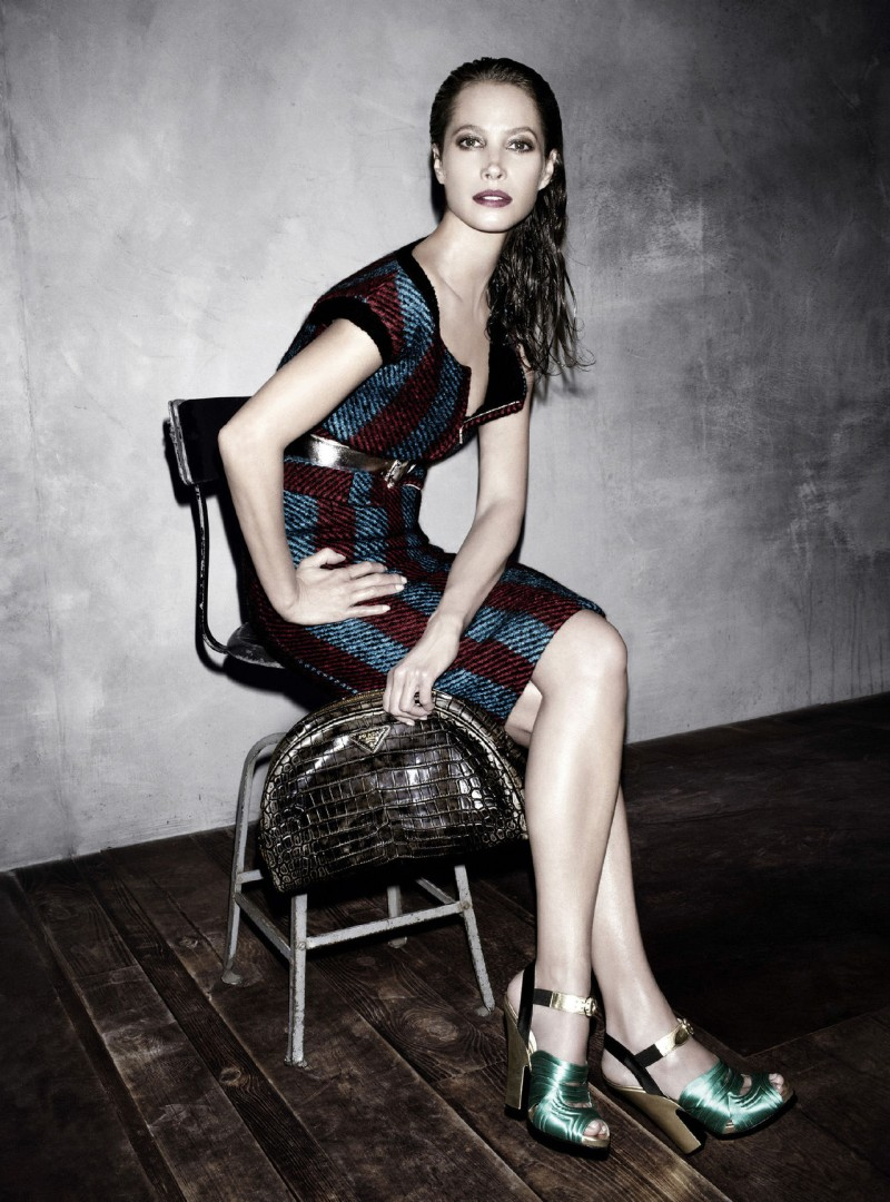 prada aw campaign2 Christy Turlington, Freja Beha Erichsen and More Tapped for Prada Fall 2013 Campaign