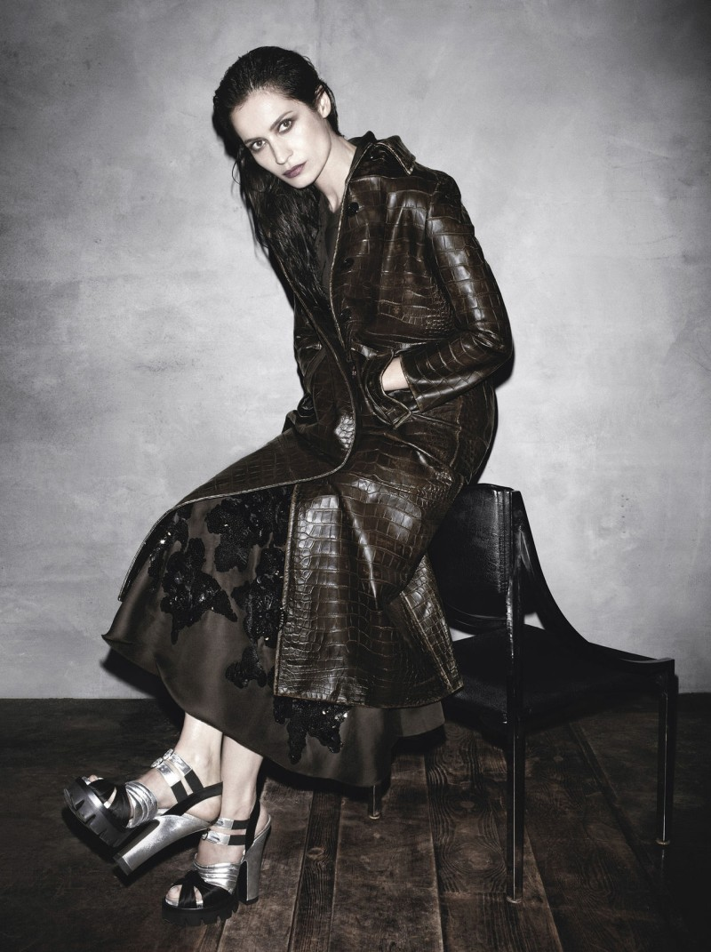 prada aw campaign4 Christy Turlington, Freja Beha Erichsen and More Tapped for Prada Fall 2013 Campaign