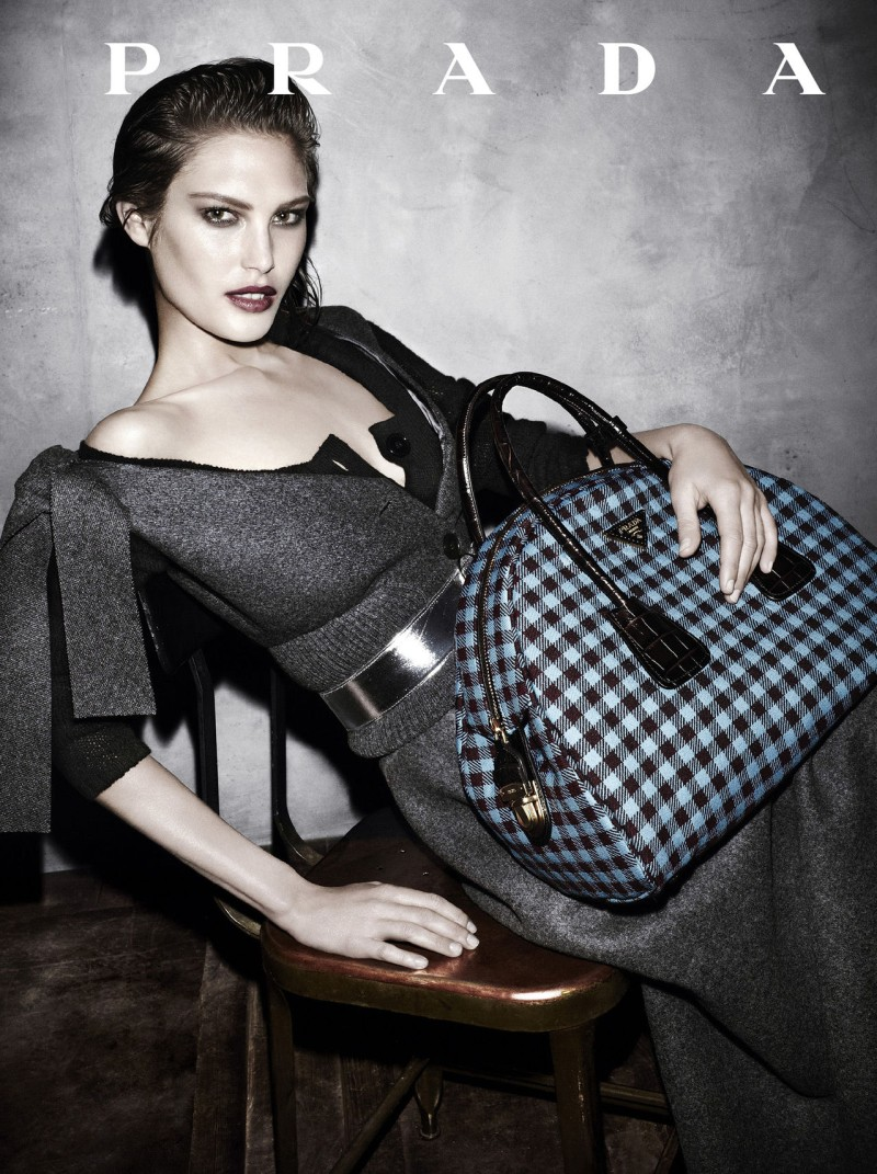 prada aw campaign5 Christy Turlington, Freja Beha Erichsen and More Tapped for Prada Fall 2013 Campaign