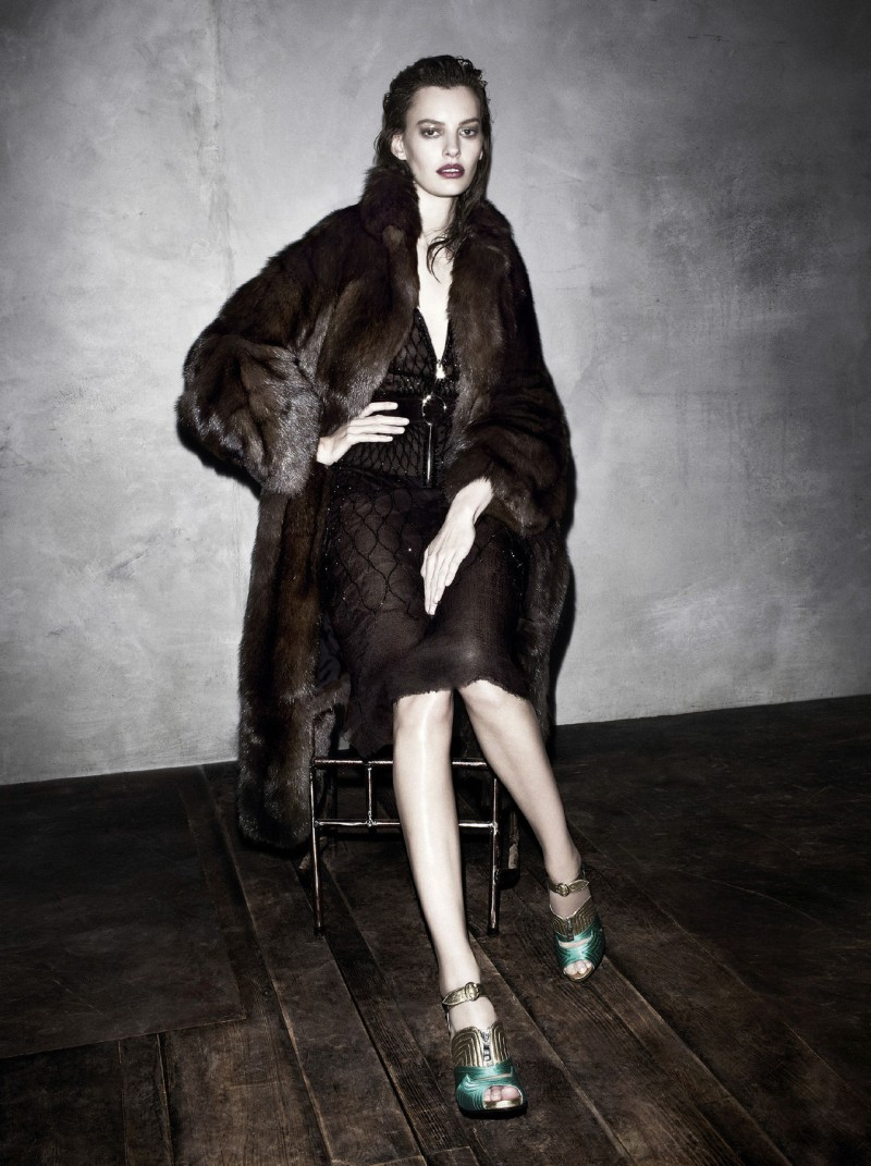prada aw campaign6 Christy Turlington, Freja Beha Erichsen and More Tapped for Prada Fall 2013 Campaign