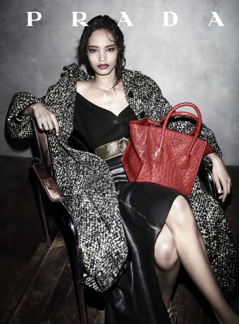 prada aw campaign7 Christy Turlington, Freja Beha Erichsen and More Tapped for Prada Fall 2013 Campaign