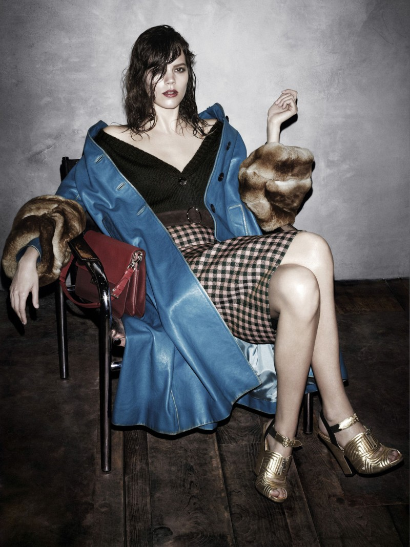 prada aw campaign8 Christy Turlington, Freja Beha Erichsen and More Tapped for Prada Fall 2013 Campaign