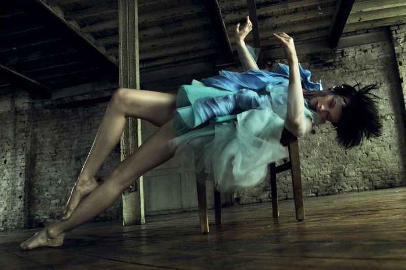 Ranya Mordanova Poses for Nikolay Biryukov in 1Granary Magazine