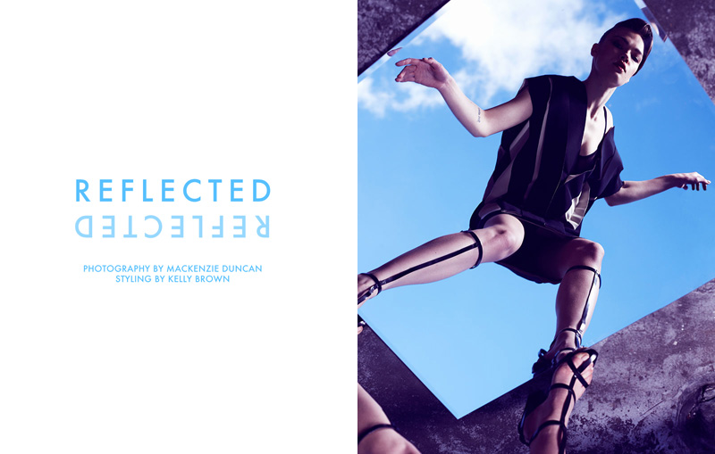 "Elina Vasilyevna by Mackenzie Duncan in ""Reflected"" for Fashion Gone Rogue 