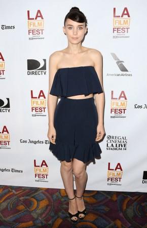 """Rooney Mara Dons JW Anderson at the """"Ain't Them Bodies Saints"""" LA Premiere"""