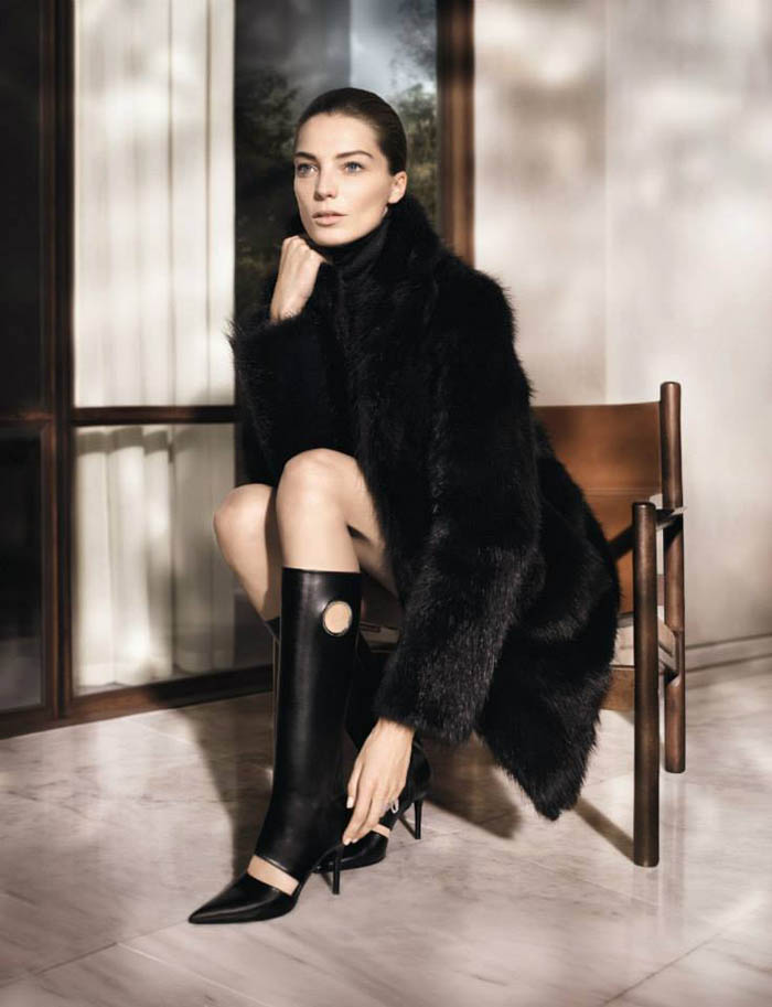 Salvatore Ferragamo Enlists Daria Werbowy for Fall 2013 Campaign