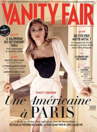 Scarlett Johansson Graces Debut Cover of Vanity Fair France
