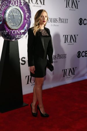 Scarlett Johansson Sports Saint Laurent at the 67th Annual Tony Awards