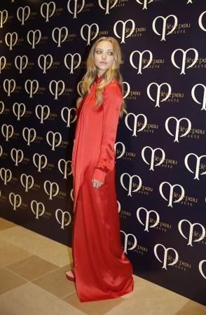 Amanda Seyfried Wears Givenchy at Shiseido's 'Clé de Peau Beauté' Dinner
