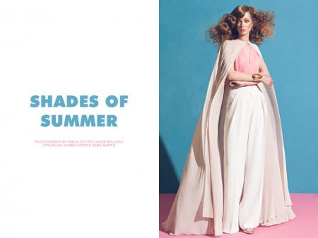 "Tanya Katysheva by Pablo Estévez & Javier Belloso in ""Shades of Summer"" for Fashion Gone Rogue"
