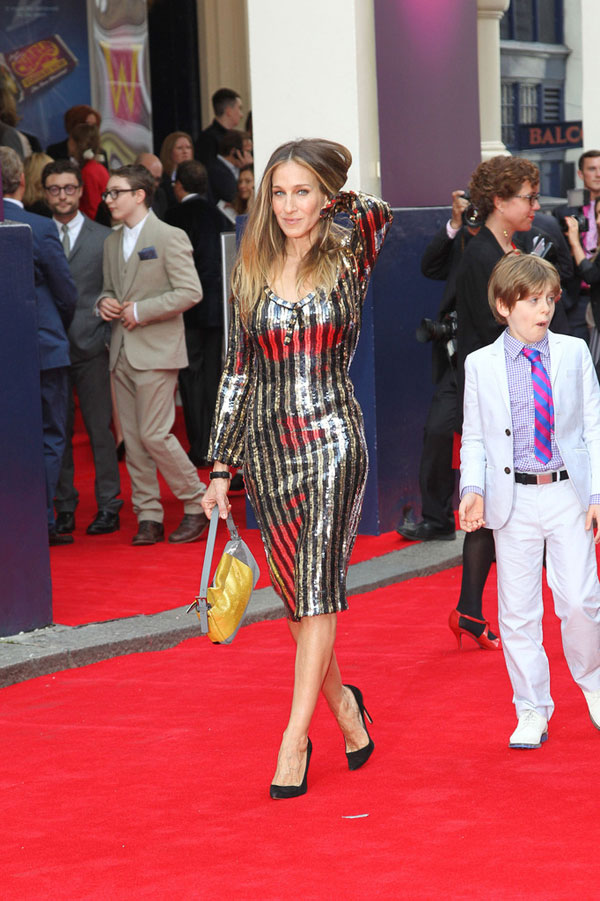 sjp marc jacobs Sarah Jessica Parker in Marc Jacobs, Miranda Kerr in Dolce and More Looks of the Week