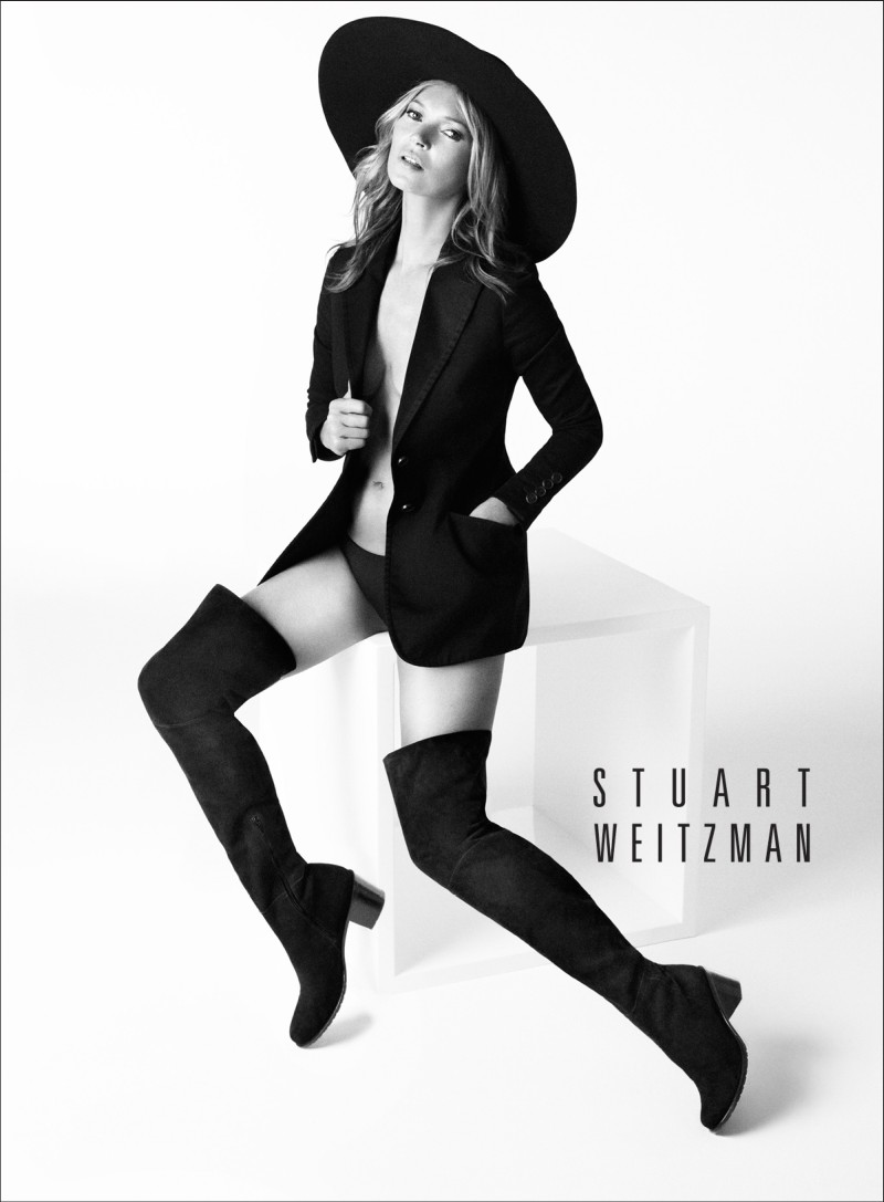 stuart weitzman fall3 Kate Moss Returns for Stuart Weitzmans Fall 2013 Campaign