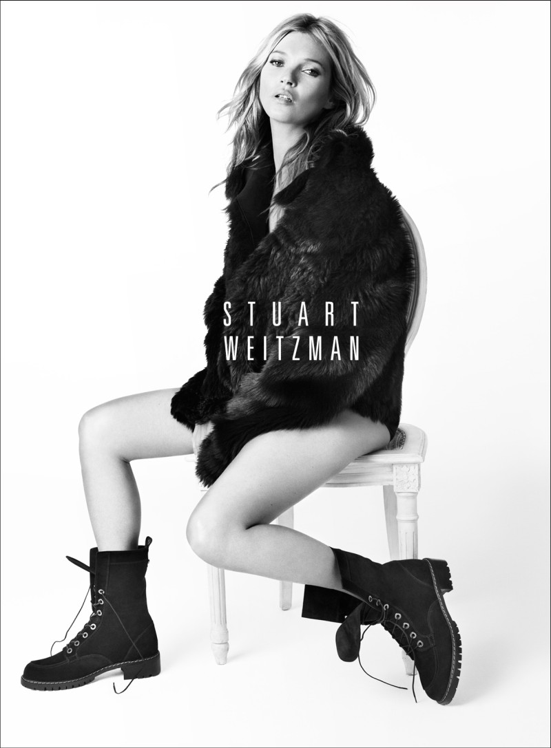 stuart weitzman fall5 Kate Moss Returns for Stuart Weitzmans Fall 2013 Campaign