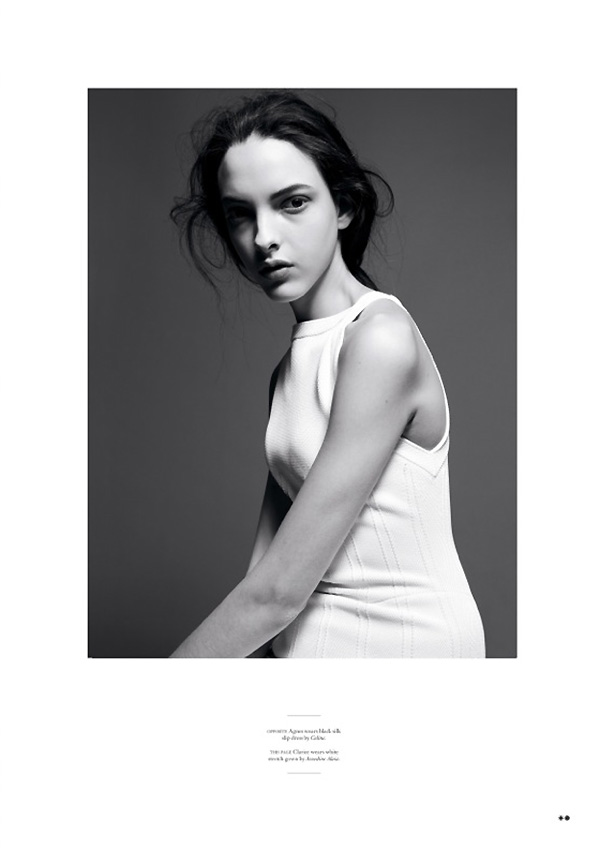Amy Troost Captures Up and Coming Faces for Twin S/S 2013