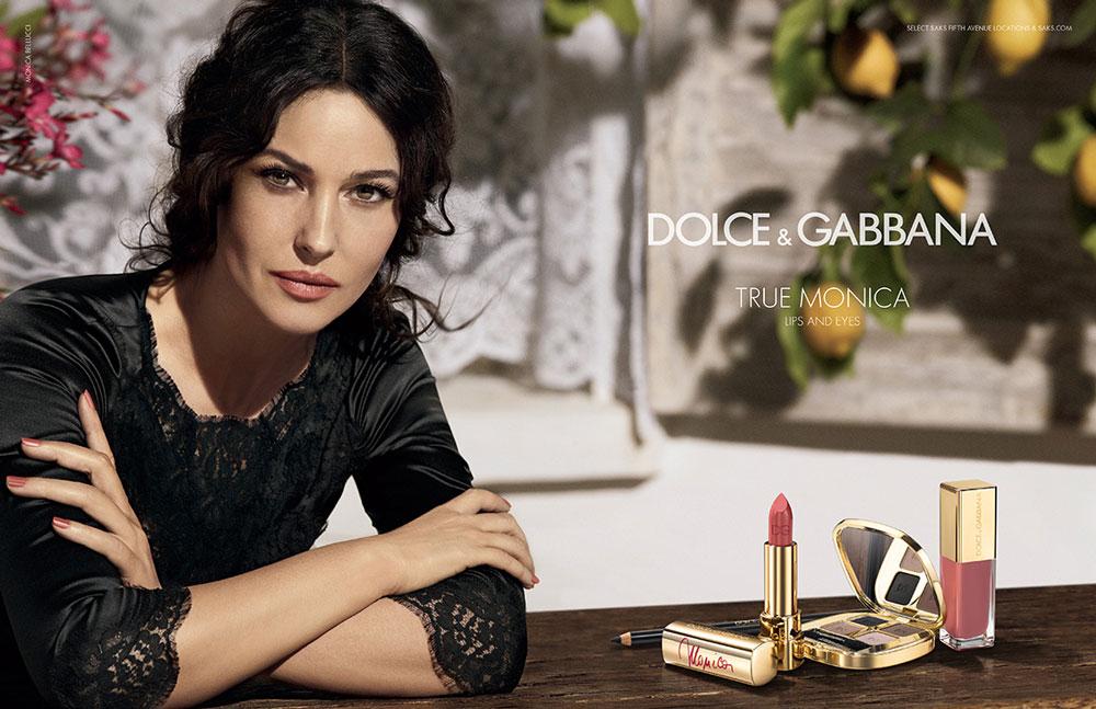 Monica Bellucci Fronts 'True Monica' Dolce & Gabbana Campaign by Giampaolo Sgura