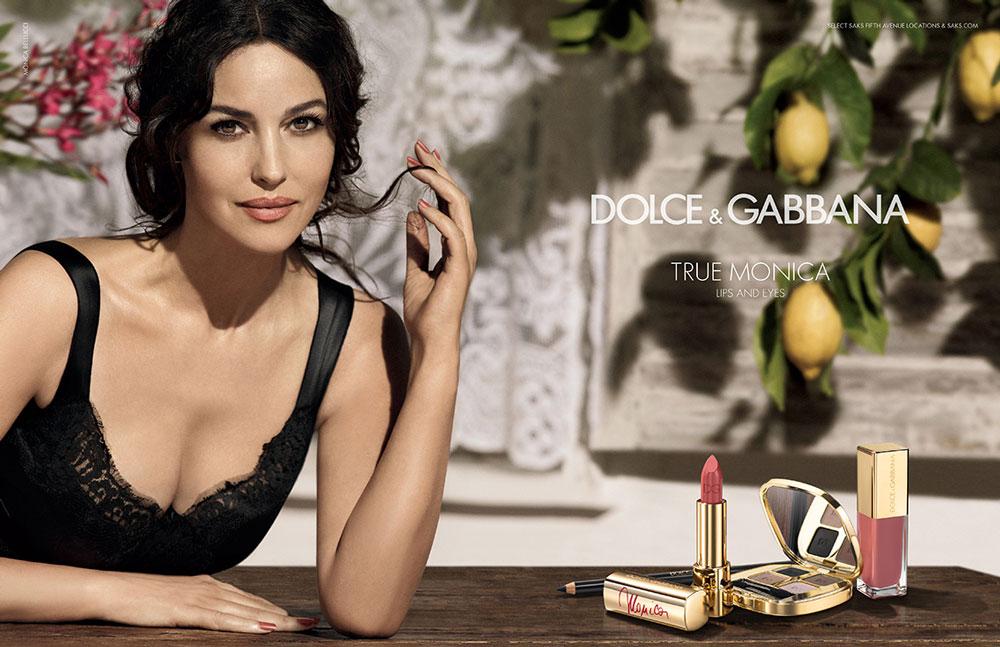 true monica dolce gabbana1 Monica Bellucci Fronts True Monica Dolce & Gabbana Campaign by Giampaolo Sgura
