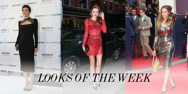 weekly looks Sarah Jessica Parker in Marc Jacobs, Miranda Kerr in Dolce and More Looks of the Week