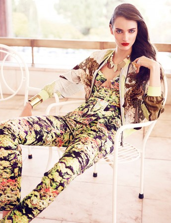 Zuzanna Bijoch Stars in Vogue Latin America July 2013 Cover Shoot