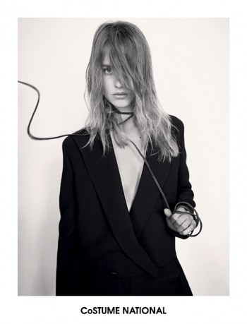 Costume National Taps Julia Frauche for Fall 2013 Ads by Glen Lunchford