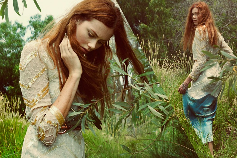 03 800x533 Wasteland Showcases Dreamy Vintage Fashions for New Lookbook