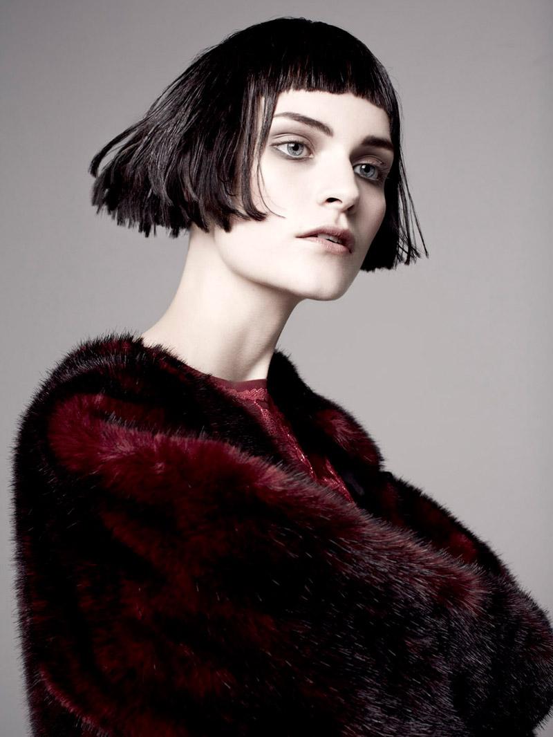 Fia Ljungström Models 30s Style for Elle Sweden by Andreas Öhlund