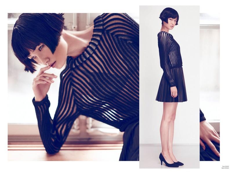 1AG xiao2 800x600 Wang Xiao Fronts H&M Trend Update
