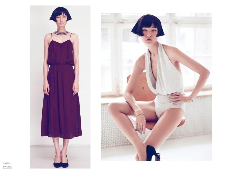 1AG xiao3 800x600 Wang Xiao Fronts H&M Trend Update