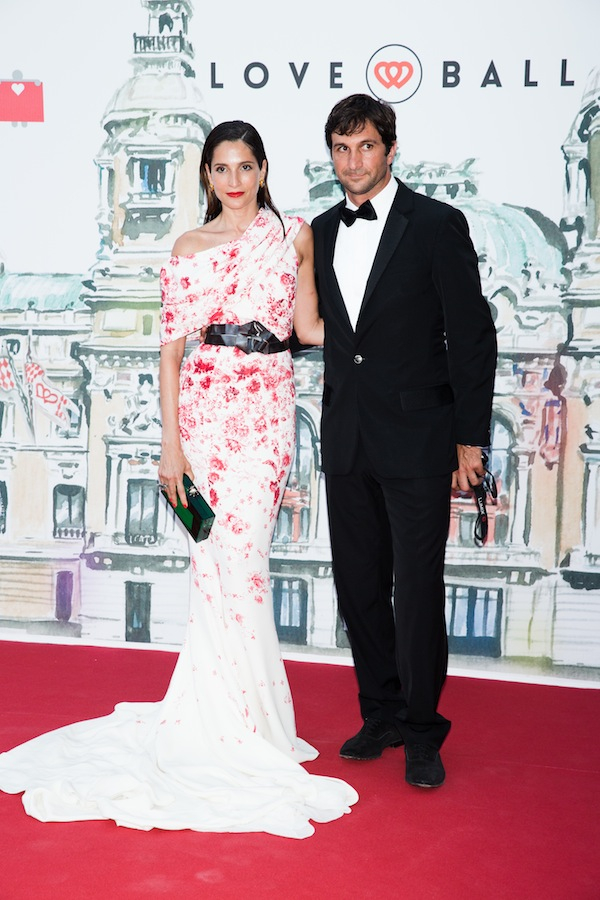 Astrid Munoz Eduardo Novillo Astrada Natalia Vodianova, Karl Lagerfeld and More Attend the 4th Annual Love Ball