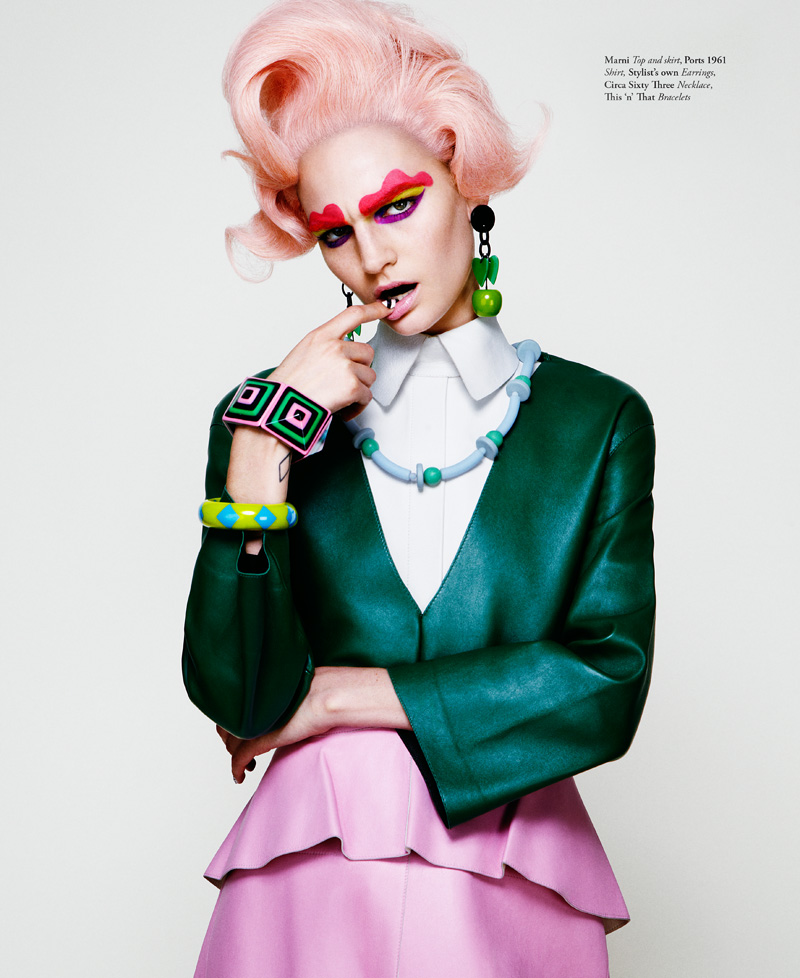 BULLETT SUMMER13 05 Jason Kim Snaps a Colorful Hirschy Hirschfelder for Bullett Summer 2013