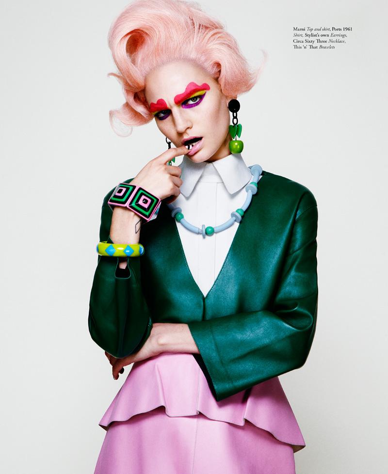 Jason Kim Snaps a Colorful Hirschy Hirschfelder for Bullett Summer 2013