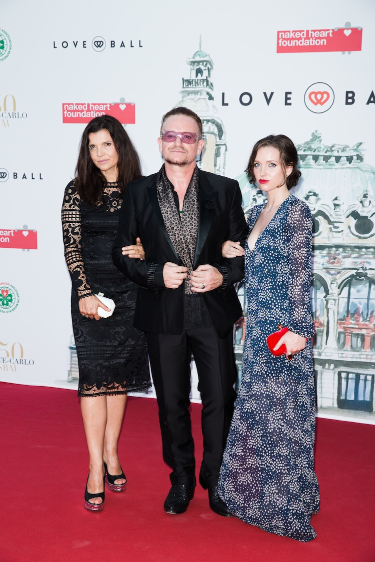 Bono Natalia Vodianova, Karl Lagerfeld and More Attend the 4th Annual Love Ball