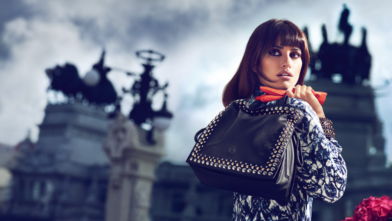 FLAMENCO STUDS BAG Penélope Cruz Returns for Loewe Fall 2013 Campaign by Mert & Marcus