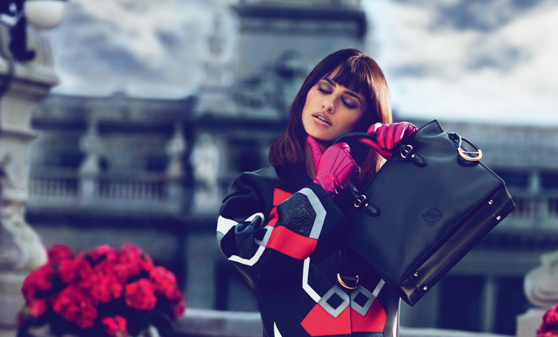 FLAMENCO TOTE BAG Penélope Cruz Returns for Loewe Fall 2013 Campaign by Mert & Marcus