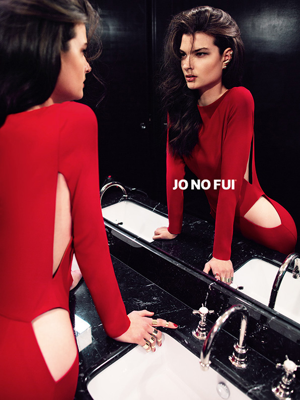 Jo No Fui's Seductive Fall 2013 Campaign by Riccardo Vimercati