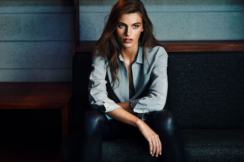 Filippa K Taps Madison Headrick for Fall 2013 Campaign by Lachlan Bailey
