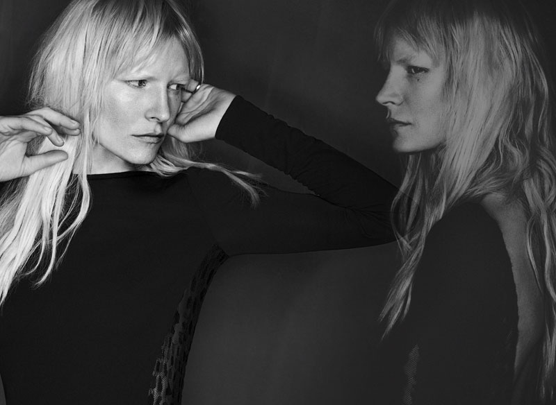 Kirsten Owen Fronts Lida Baday Fall 2013 Campaign by Chris Nicholls