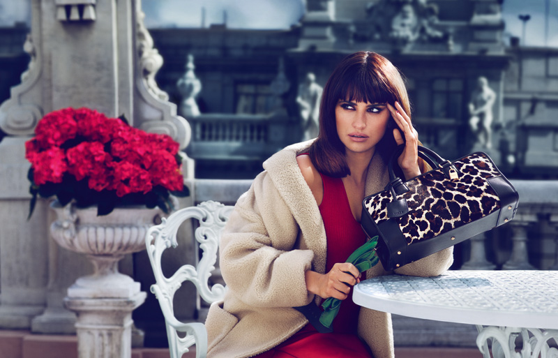 MONOCHROME BAG Penélope Cruz Returns for Loewe Fall 2013 Campaign by Mert & Marcus