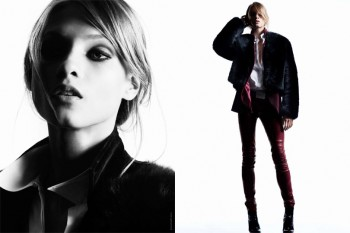 Hunkydory Enlists Anna Selezneva for Fall 2013 Campaign by Marcus Ohlsson