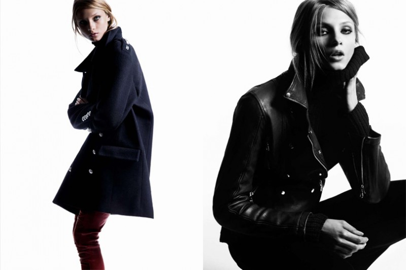 MO hunkyfw 5 800x533 Hunkydory Enlists Anna Selezneva for Fall 2013 Campaign by Marcus Ohlsson
