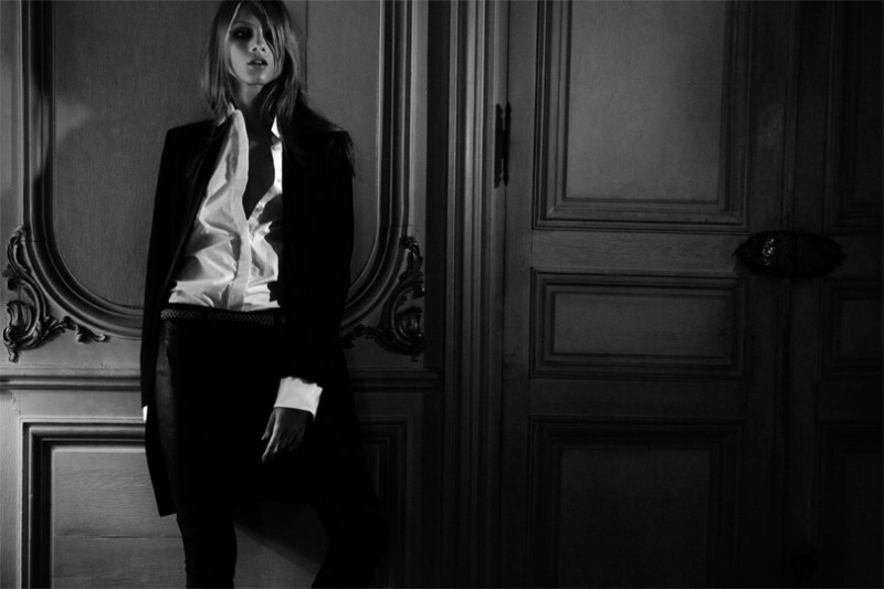 MO hunkyfw 8 800x533 Hunkydory Enlists Anna Selezneva for Fall 2013 Campaign by Marcus Ohlsson