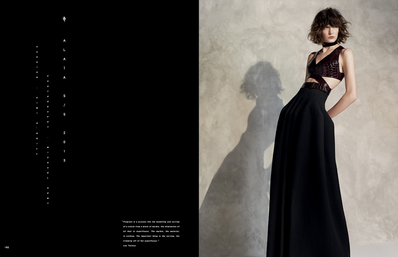 NE FASHION40 See a Preview of Near Easts Debut Issue Featuring Azzedine Alaia and More
