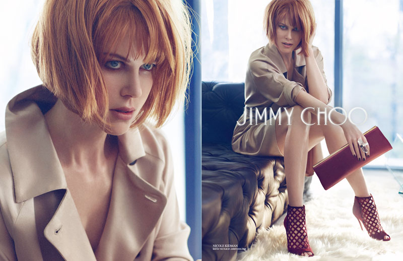 Nicole Kidman Gets Seductive for Jimmy Choo Fall 2013 Campaign