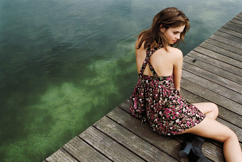 Urban Outfitters Goes to Paris Countryside for Early Fall Catalog