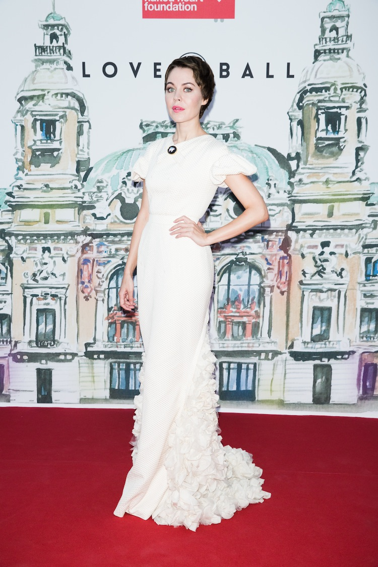 Ulyana Sergeenko Natalia Vodianova, Karl Lagerfeld and More Attend the 4th Annual Love Ball