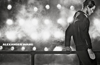 Malgosia Bela is Back for Alexander Wang's Fall 2013 Ads