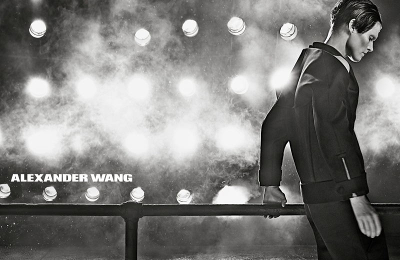 W.LOGO ALEXANDERWANG F13 WEBEXCLUSIVE Malgosia Bela is Back for Alexander Wangs Fall 2013 Ads