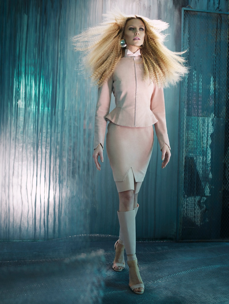 abbey clancy shoot4 Abbey Clancy Sports Sci Fi Style for Hasan Hejazi Collaboration